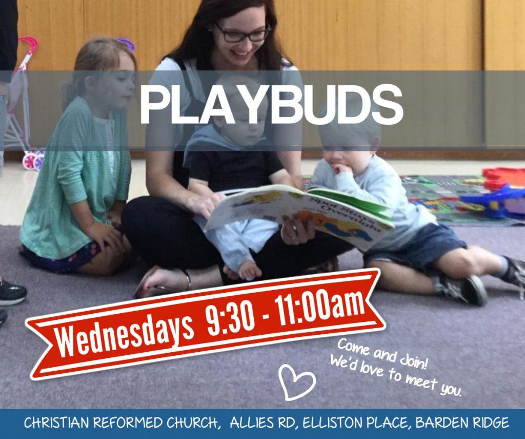 Playbuds - Wednesday mornings in Barden Ridge